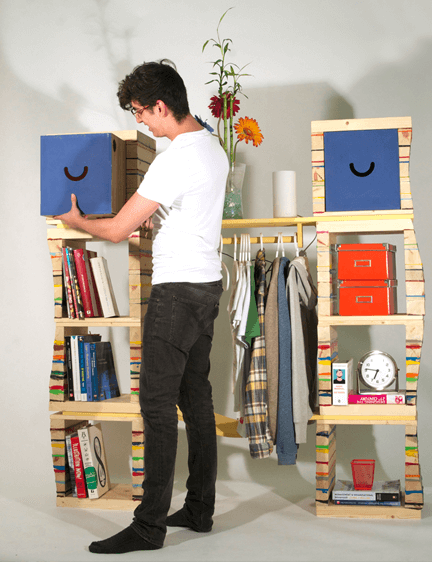 Smiling Bookcase